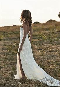 top 14 beauty lace bohemian wedding dress designs cheap With beach lace wedding dresses