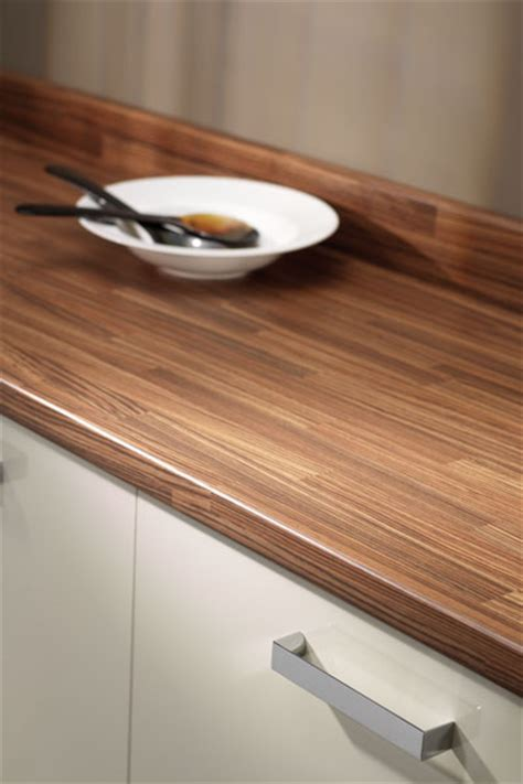 Zebrano Blocked Prima Formica Laminated Worktop