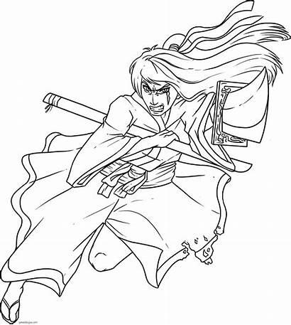 Samurai Anime Draw Japanese Drawn Dibujos Drawings