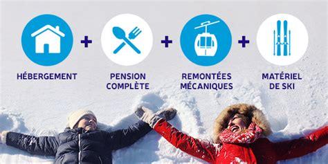 coffret cadeau voyage tout compris week end ski pas cher tout compris et court s 233 jour en location