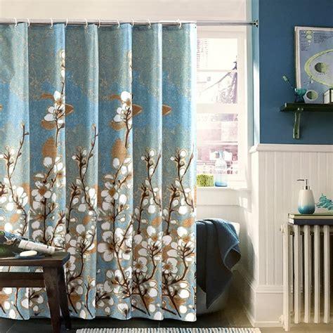 magnolia shower curtain ufaitheart magnolia flower pattern waterproof bath curtain