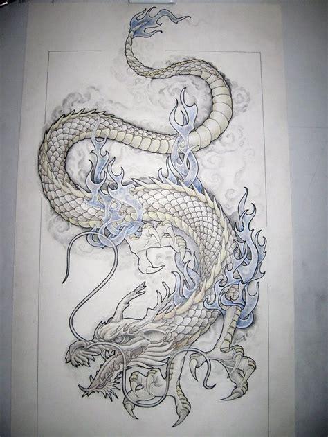 dragon tattoo design   starting   hip     thigh tattoos