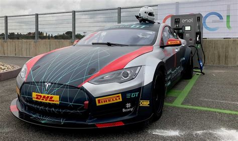 Tesla Racing Series by Tesla Model S Racing Event Gets Fia Approval Might Start