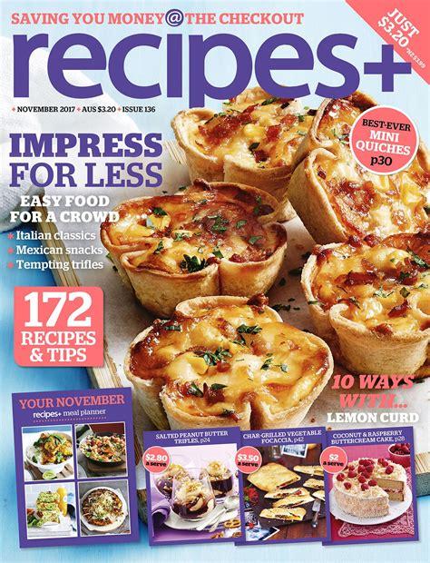 recipes  magazine subscription magshop