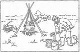 Coloring Maple Syrup Indiana Pages Pioneer Making Printable Getcolorings Kettles sketch template