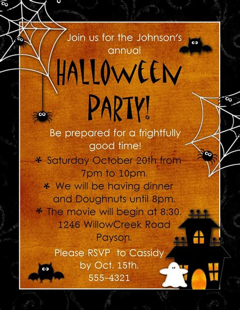 Halloween Invitation Template Free. Black And Gold Birthday Invitations. Free Privacy Policy Template. Fake Book Cover Generator. Simple Registration Form Template