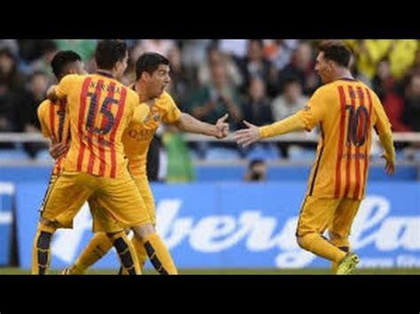 Deportivo La Coruña 0 x 8 Barcelona - All Goals Melhores Momentos - Campeonato Espanhol 20/04/2016 - YouTube