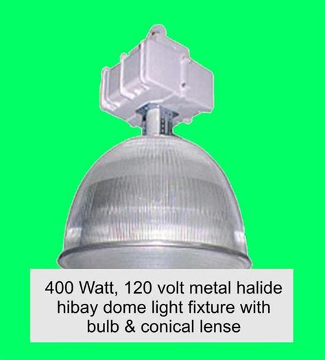 400 watt 120 volt metal halide light fixtures outside