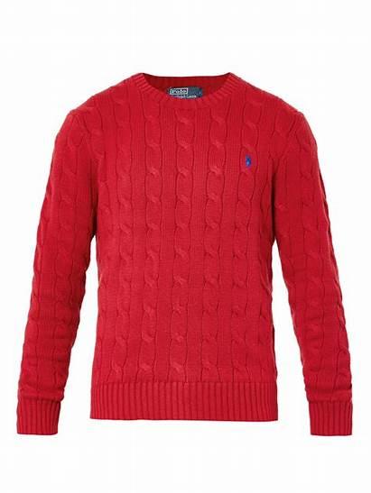 Sweater Knit Cable Polo Ralph Lauren Crewneck