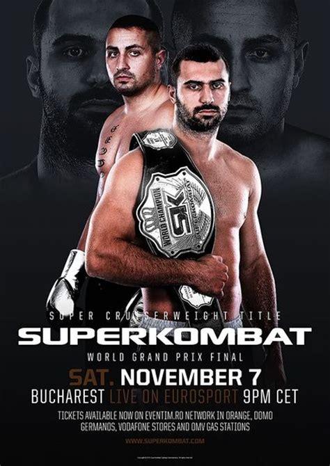 Jorge Loren vs Andrei Stoica Superkombat World Title 07 November 2015 Bucharest - Видеохостинг Ru-tubbe.ru