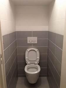 toilette carrelage meilleures images d39inspiration pour With carrelage adhesif salle de bain avec lampe a poser led