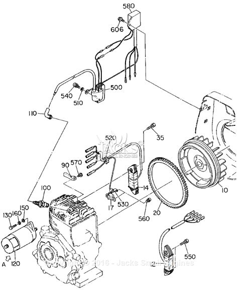 robin subaru ey40 parts diagram for electric start