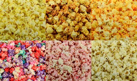 colored popcorn popped popcorn in pre packaged bags boxes bulk
