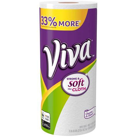 viva choose  size paper towels  ct shop
