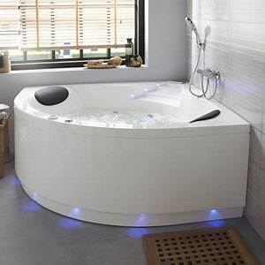 Baignoire Avec Tablier : baignoire baln o lumino avec tablier 140 x 140 cm castorama ~ Premium-room.com Idées de Décoration