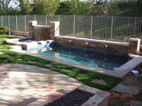 Small Pool Backyard by Small Backyards Pacific Paradise Pools