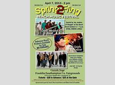 SPRING FLING Beach Music Festival Events Calendar