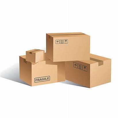 Box Cardboard Vector Shipping Clip Carton Boxes