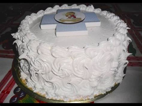 como decorar tortas de bautismo youtube