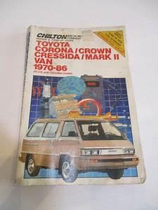 Sell Chilton Repair Manual Toyota 1970