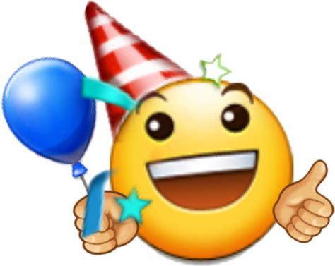 Emoji Emotions Birthday Happy Happybirthday Sticker Fre