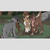 Warrior Cats Jayfeather And Halfmoon Kits | 699 x 379 png 342kB