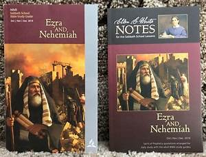 2 Complementary Sda Sabbath School Bible Study Publications  Ezra And Nehemiah In 2020