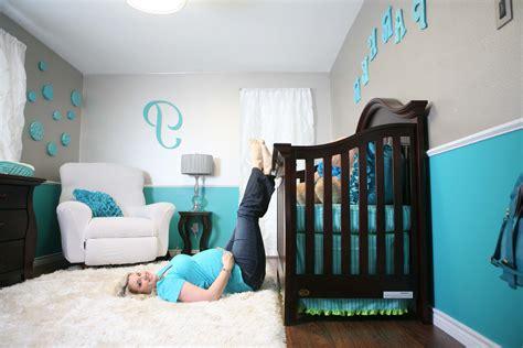 Kids White Crib Chest Of Drawer Grey Carpet Flooring Pink