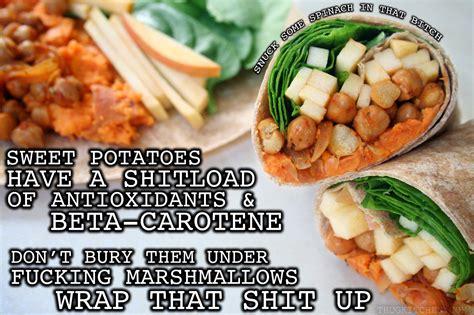 Kitchen Recipes by Sweet Potato Chickpea Wraps Keeprecipes Your Universal