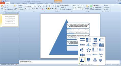 Microsoft Office Smartart Templates by Powerpoint Templates Microsoft Office 2010 Gallery