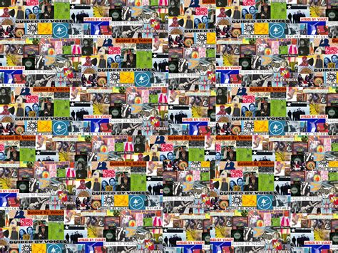 Wallpaper Computer Collage by Gbvdb Guided By Voices Database