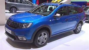 Dacia Logan Mcv Stepway 2017 : dacia logan mcv stepway tce 90 s s easy r 2017 exterior and interior youtube ~ Maxctalentgroup.com Avis de Voitures