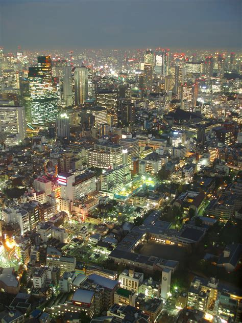 Free Stock photo of glittering tokyo skyline | Photoeverywhere
