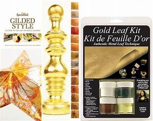 mona lisa gold leaf starter kit metal leafing kit With gold leaf lettering kit