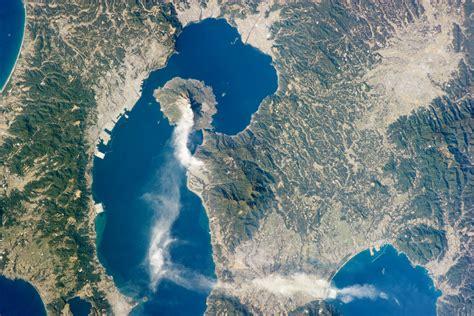 Sakurajima Volcano Kyushu Japan Image Of The Day