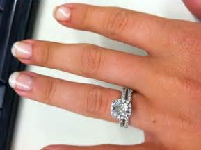 show me engagement rings show me your halo engagement ring w wedding band weddingbee