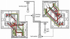 Wiring Diagram For 2 Gang Way Lighting Switch Two With Light