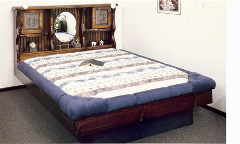 waterbed  haven complete hbfrdeckd ped  king pine