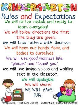 kindergarten and expections preschool 676 | a7f7793b27659ef190644dc8fc4336fe kindergarten classroom rules kindergarten posters