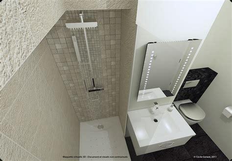 chambre commerce 3d projet deco projets 3d de salles de bain de style