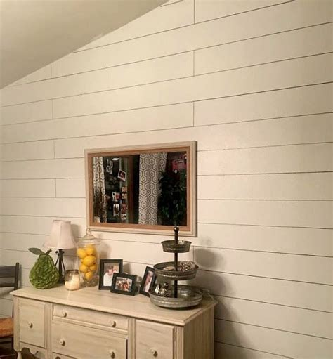 faux shiplap diy sharpie shiplap  painted shiplap