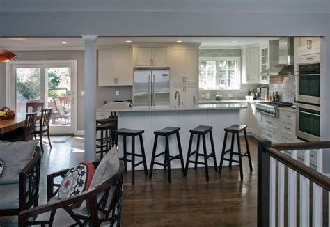 backsplash with white cabinets raised ranch kitchen transitional with kitchen