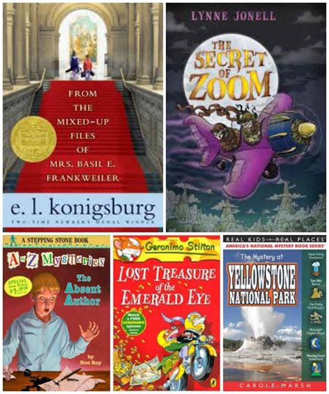 15 Detective & Mystery Books For Kids  Edventures With Kids