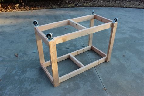 easy portable workbench plans rogue engineer