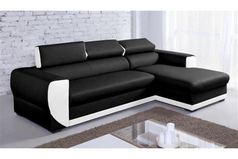 canapé simili cuir blanc pas cher canapé d 39 angle en simili cuir pas cher