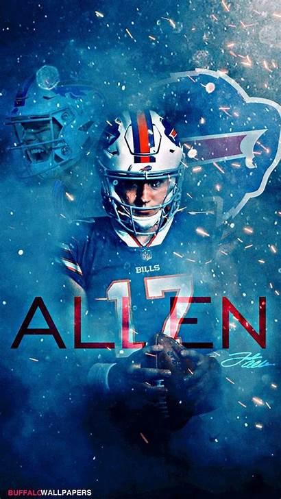 Josh Allen Bills Buffalo Wallpapers Nfl Football