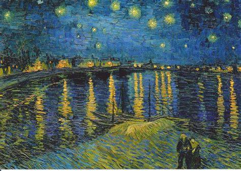 la chambre gogh gogh la nuit étoilée sur le rhône des cm1 cm2