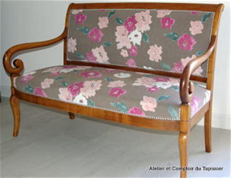atelier et comptoir du tapissier banquette restauration