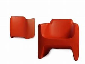 Fauteuil En Plastique : fauteuil indestructible rouge ~ Edinachiropracticcenter.com Idées de Décoration