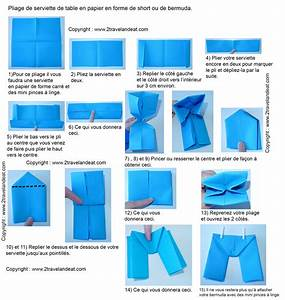 Pliage En Papier : pliage de serviette de table en forme de bateau de cale on ~ Melissatoandfro.com Idées de Décoration